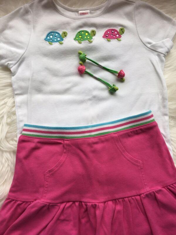 2 Pc Set Top/ Skort Size 7 Girl Gymboree