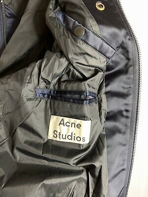 Authentic Acne STUDIOS baseball BOMBER Elongated Jacket Coat sweater shirt M