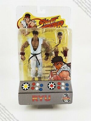 "2004 SOTA Street Fighter Round 1 Ryu 6"" action figure MIP / MOC - Capcom for sale  Shipping to India"