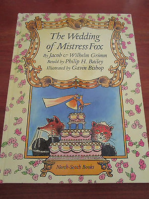 E165) KINDERBUCH THE WEDDING OF MISTRESS FOX GRIMM/BISHOP IN ENGLISCH EA 1994