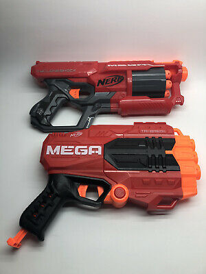NERF MEGA Cyclone Shock + MEGA Tri-Break + 9 Darts