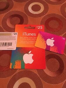 ITune cards brand new