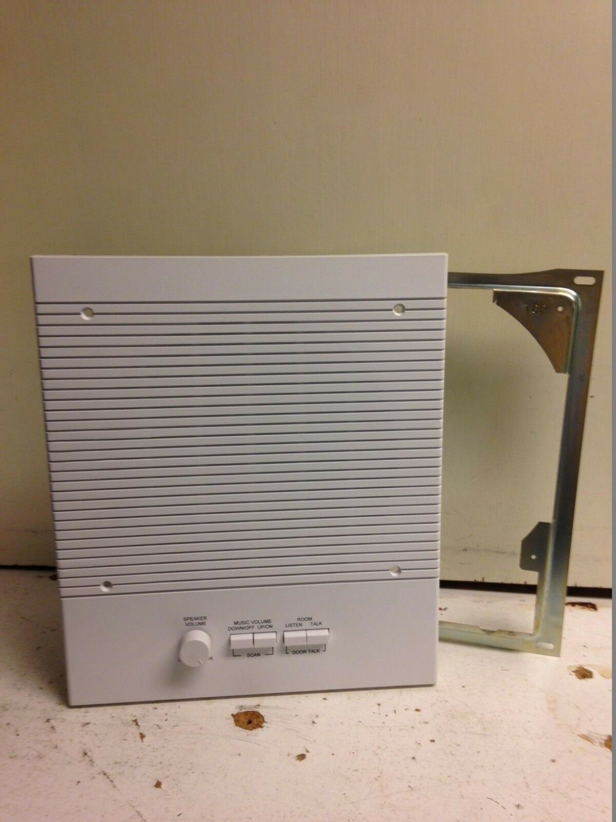 "M&S N68RS Intercom 8"" Room Station White"