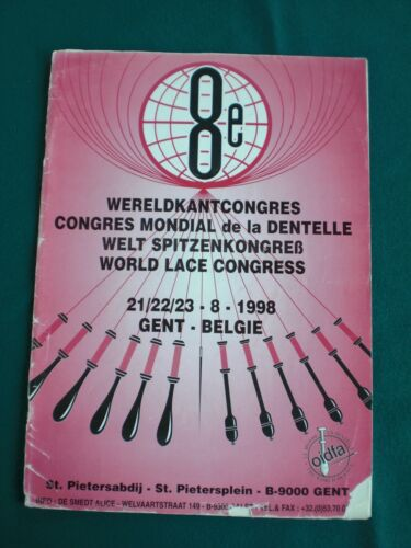 OIDFA 8th world lace congress 1998 bulletin