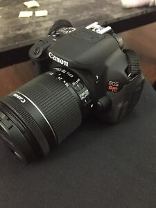 Like New Canon T5i with extras