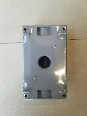 Hubbell-bell 5320-0 Single Gang 3-12-inch Outlets Weatherproof Box Electrical