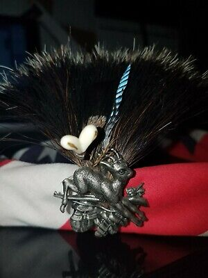 European Hat Band pin on bandanna with other pins