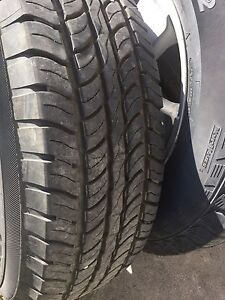 Tires and rims everything is %90 to 95