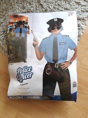 POLIZISTEN KOSTÜM & HUT KINDER Polizei Uniform Jungen - Kinder Polizei Uniform