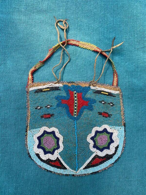 Gorgeous Nez Perce/Plateau Beaded Bag
