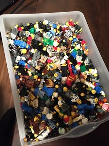280 random lego minifigures  rare lot soldiers pirate city
