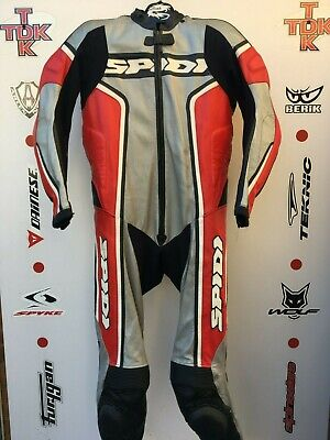 Spidi Kangaroo ultra light 1 piece race suit with hump uk 40 euro 50 (Kangaroo Suit)