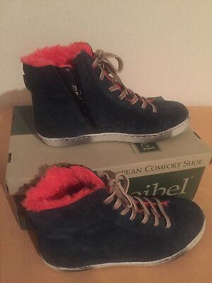 Josef Seibel Irina Gr. 37 Damen Chukka Boots Blau Aqua