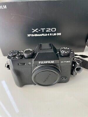 USED: Fujifilm X-T20 Mirrorless Digital Camera Body - Black
