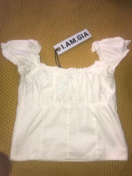 2b60de7a5da Clothing I.AM.GIA Naomi top white