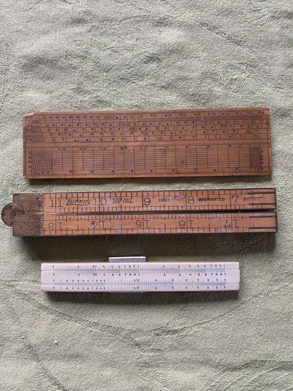 Unique Antique Measurement Devices Lot 3