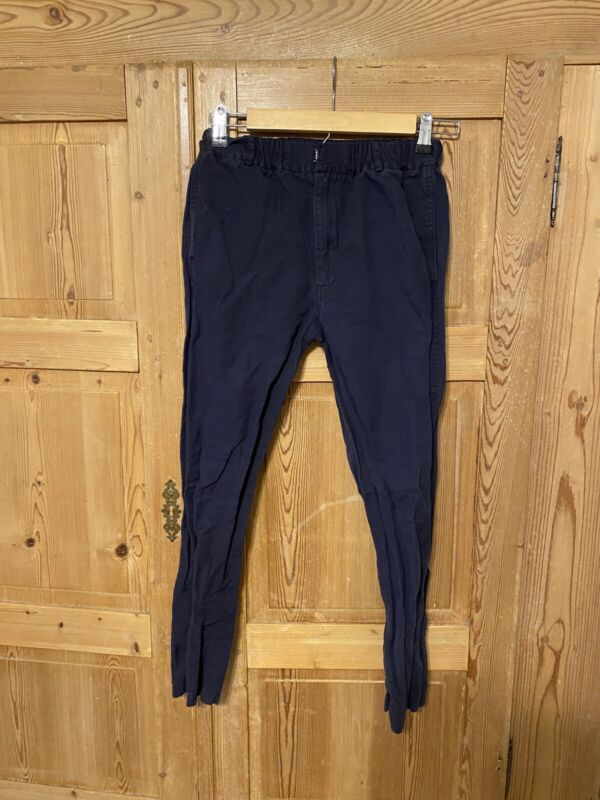 Flora and henri Girls Size 12 Navy Casual Pants Cotton Chinos