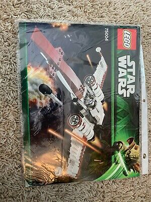 INSTRUCTIONS: LEGO Star Wars Z-95 Headhunter 75004