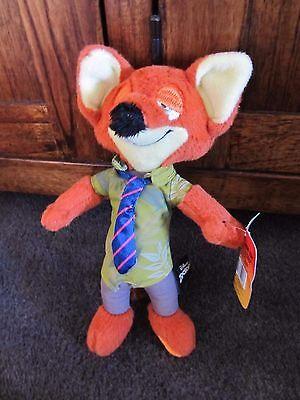 ZOOTOPIA...Disney...Nick Wilde the FOX....nice soft toy