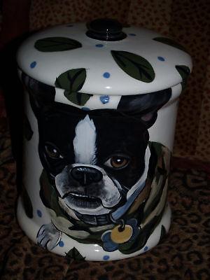 Breed Cookie Jar (Custom Cookie Jar Boston terrier any BREED Large Treats )