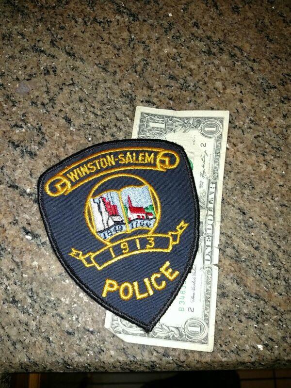 Winston Salem North Carolina Police Department Patch New Old Stock