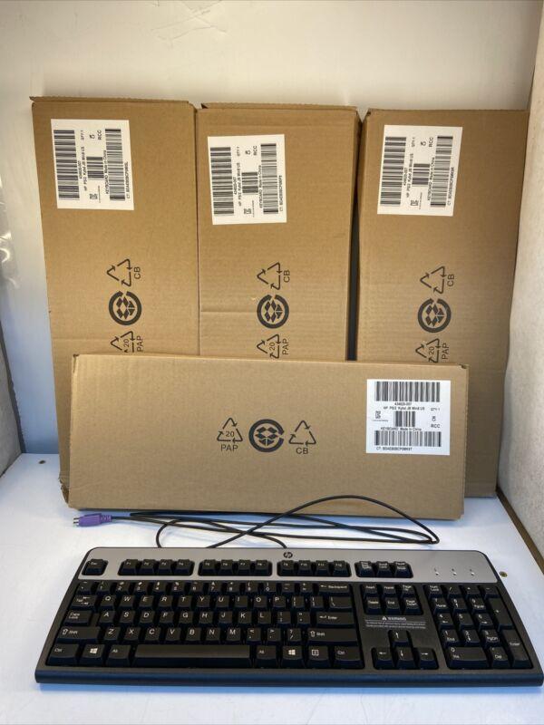 *Lot of 4* HP 434820-007 PS/2 Keyboard SK-2880