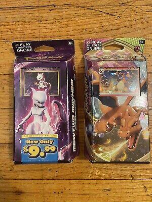 Charizard Mewtwo Mayhem XY Evolutions Vivid Voltage Deck Pokemon TCG Theme Deck