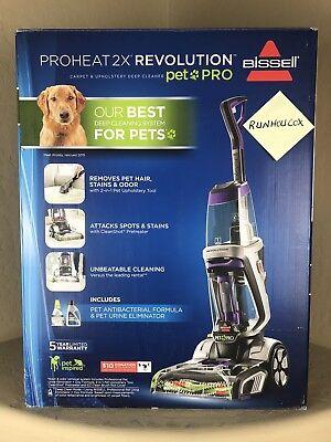 Bissell ProHeat 2X Revolution Pet Pro Carpet Cleaner 1986 NEW IN (Bissell Proheat 2 X Cleaner)