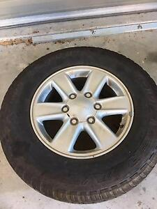 """dmax lsm 16"""" wheels and tyres Clontarf Redcliffe Area Preview"""