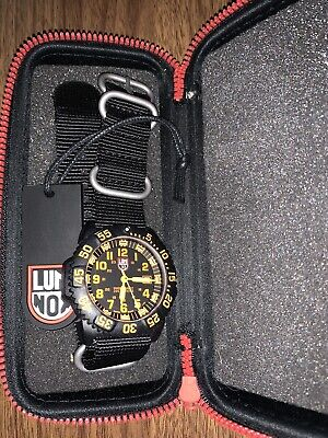 Luminox EVO Navy SEAL 3059 Orange w/ Original Hangtag and Case