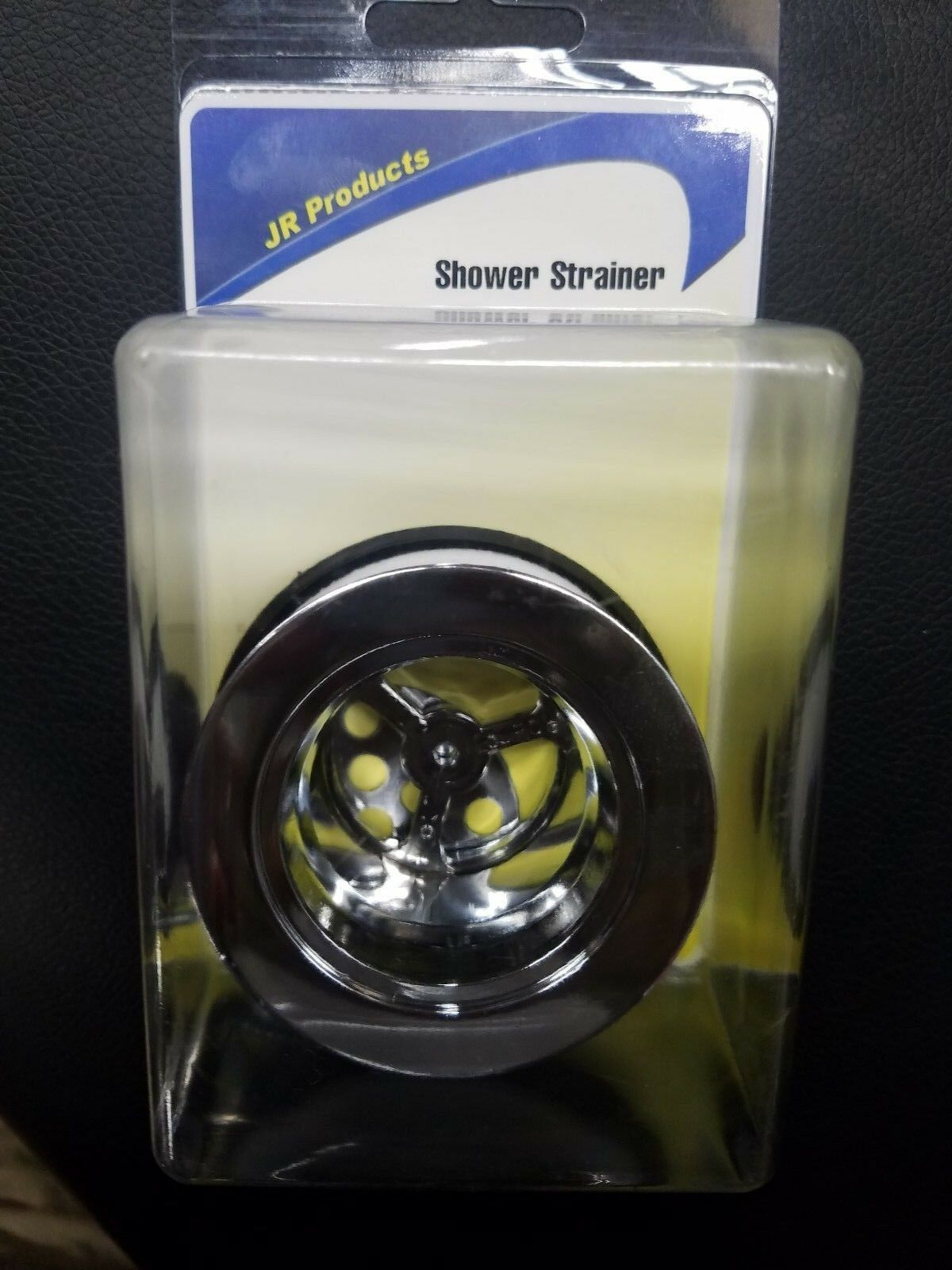"""JR Products 95175 2"""" Chrome Shower Strainer"""