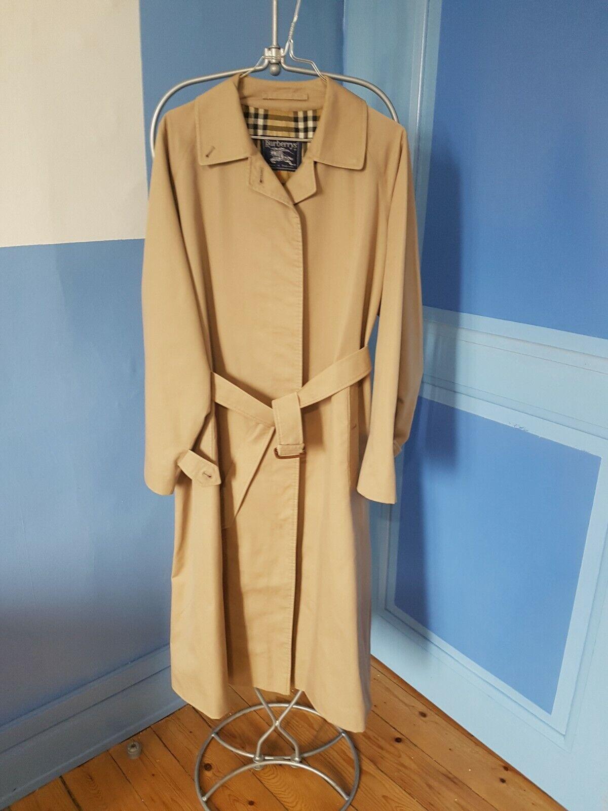 Superbe manteau trench / burberrys - taille 16 = 44/46 /  ex - etat
