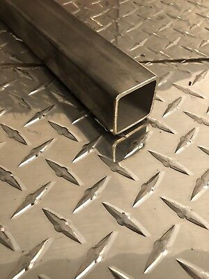 1-12 X 1-12 X 11 Gauge 304 Stainless Steel Square Tubing X 24 Long