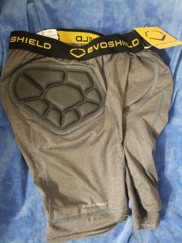 Mens Evosheild Padded Baseball  Sliding Shorts Size S Read Details