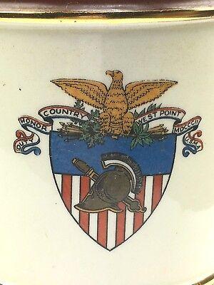 RARE vintage West Point Military Academy Cadet CIGAR HUMIDOR Shenango ? USMA