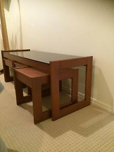 MID CENTURY RETRO COFFEE TABLE NEST Sippy Downs Maroochydore Area Preview