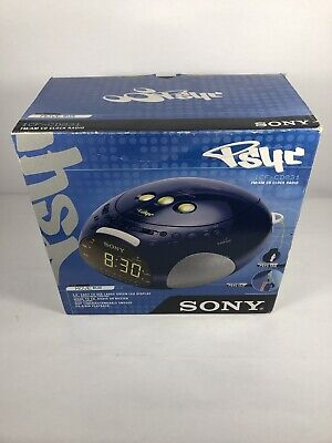 Sony Dream Machine PSYC Dual Alarm Radio / CD Player ICF-CD831