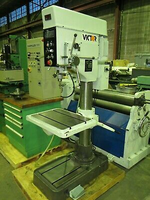 Excellent Victor 27 Variable Speed Drill Press With Tapping