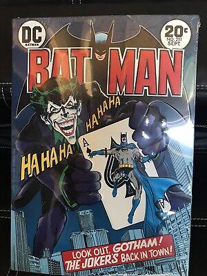 DC Comics™ ORIGINALS Comic Book THE JOKER #251 Spring Vintage Decor TIN SIGN - Comic Book Decor