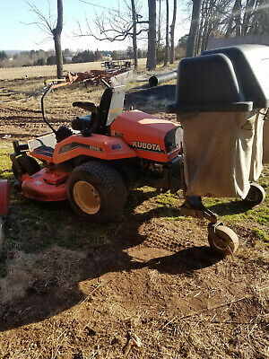 Kubota zd21 Diesel Mower with Collection System (Bagger) Kubota Lawn Mower