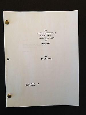 STAR WARS Screenplay by GEORGE LUCAS Draft 1976