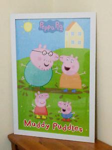 Peppa pig frame Launceston Launceston Area Preview