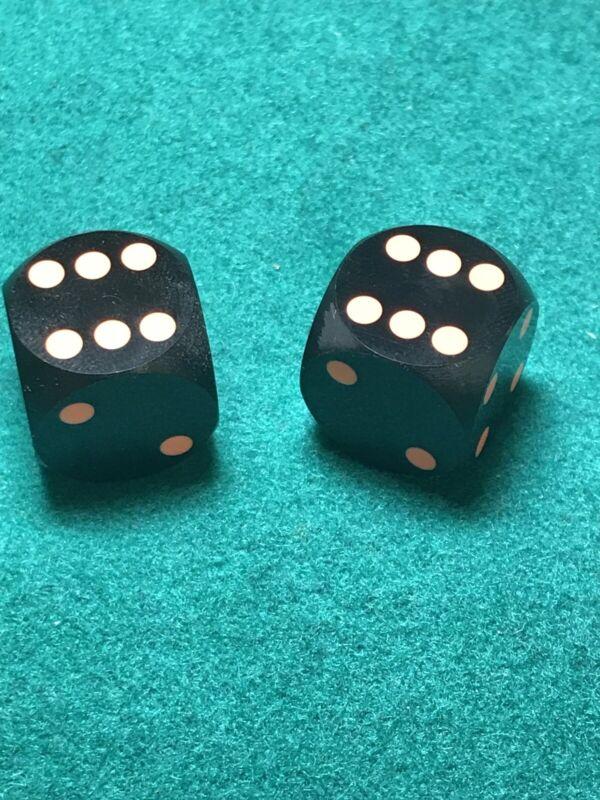 Precision Backgammon Dice