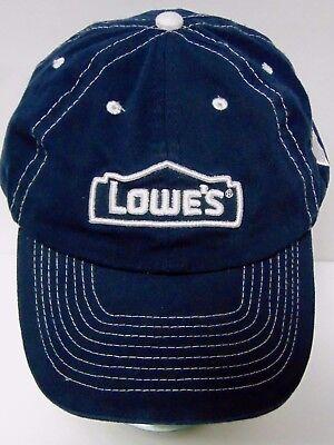 Lowes Home Improvement Appliance Sakrete Concrete Advertising Logo Hat Cap