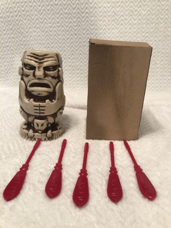 Munktiki Imports Mug Hale Pele Portland Oregon
