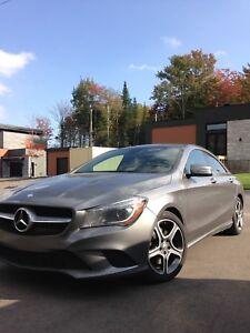 Transfert de location Mercedes CLA 250