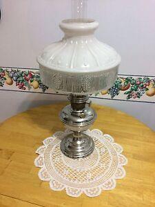 Kerosene lamp.  1920's