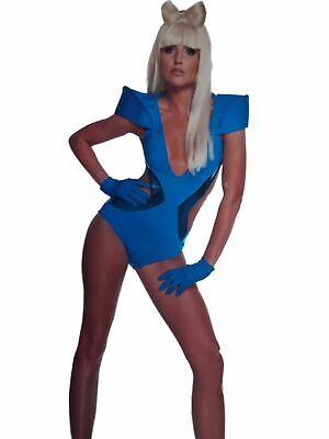 Womens Lady Gaga Poker Face Video Swim Suit  Halloween Costume Cosplay (Poker Costume)