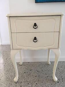 Queen Anne, French,shabby bedside table. Cottesloe Cottesloe Area Preview