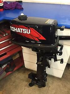 TOHATSU 5 HP OUTBOARD MOTOR AS NEW Sydney City Inner Sydney Preview